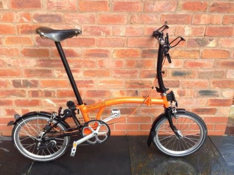 Brompton S3l Folding Bike Customised Will Ship Worldwide Ebay