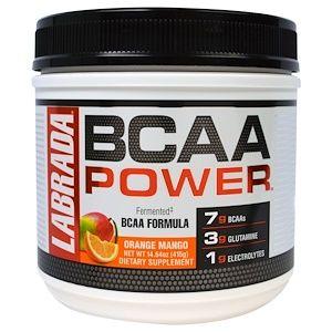 Labrada Nutrition Bcaa Power Orange Mango 14 64 Oz 415 G