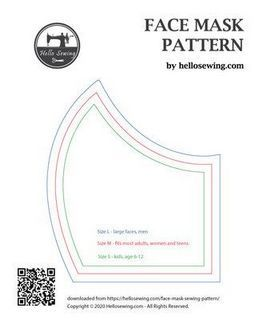 Diy face mask sewing pattern with filter ideas 34 | Inspira Spaces