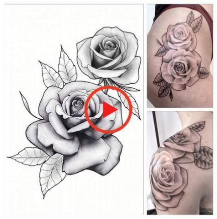 Best Drawing Flowers Rose Tattoo Ideas Rose Drawing Tattoo Rose Tattoo Design Rose Flower Tattoos
