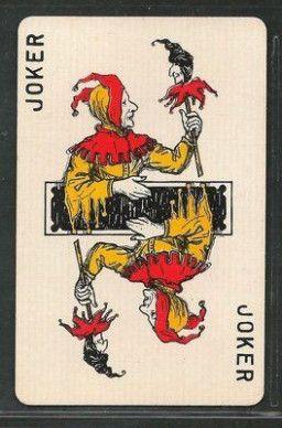 Joker Paper Card Joker Playing Card Joker Card Unique Playing Cards