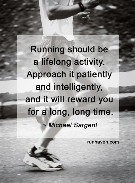 running Running should be a lifelong...