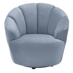 Buy Argos Home Ezra Velvet Swivel Chair Blush Pink Armchairs