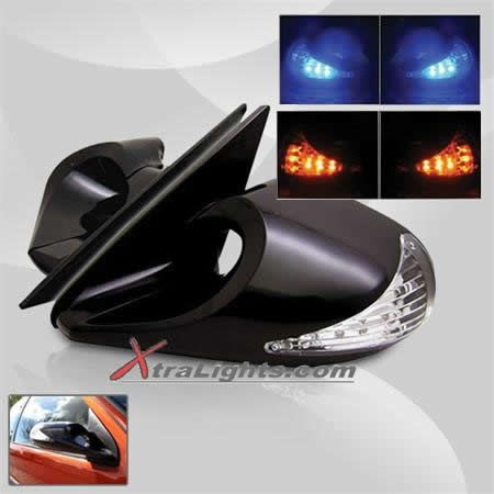 15 best side mirrors images on pinterest mirror mirrors and glass infiniti racing side mirrors manual adjustable with amber led turn signal black pair fandeluxe Images
