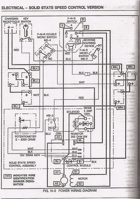 ezgo wiring diagram ezgo body, ezgo accessories, ezgo lights 1994 Ezgo Marathon Wiring-Diagram 2009 ezgo rxv wiring diagram