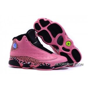 outlet store a4296 d9793 Girl Air Jordan 13 Pink Elephant Leopard Print Black New Release, Price    77.15 - GetOffWhite.com