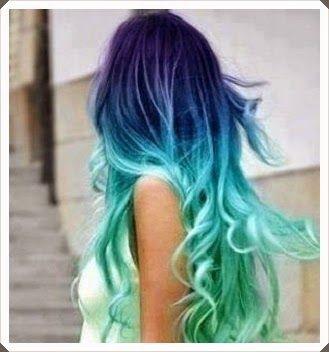 Grafon Kağıdı Ile Saç Boyama Colored Hairs Pinterest Hair