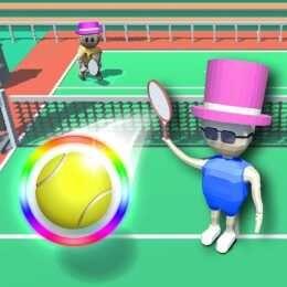 لعبة كيوبك تنس Cubic Tennis Games Play Brushing Teeth