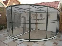 Afbeeldingsresultaat Voor Zelf Aluminium Voliere Maken Www Volierevogels Online Nl Aviariesideas Bird Aviary Monkey Cage Pet Monkey