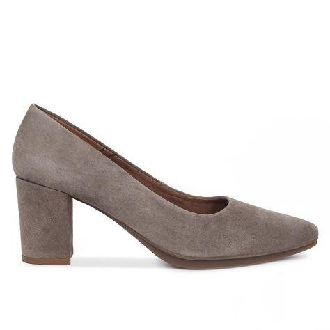 66cc9904 Zapatos mujer tacón bajo GRIS PIEDRA Urban S - Zapatos online miMaO – miMaO  ShopOnline