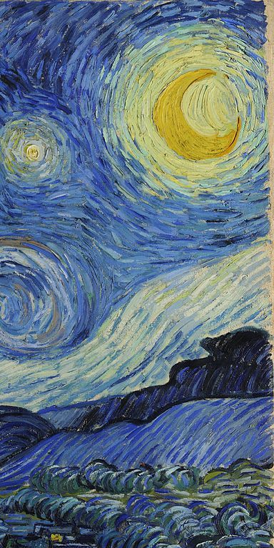 Vincent Van Gogh Starry Night  1889  (detail)