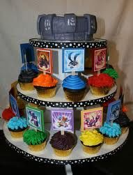 Skylanders Birthday Party Troys 6th Birthday at Sky Zone Cake by