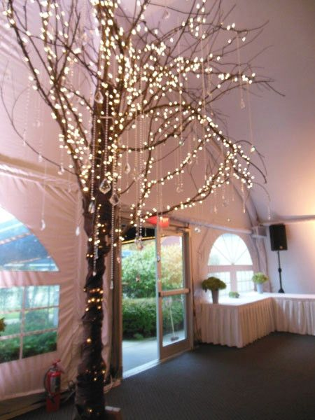 Lighted Tree Home Decor Prom