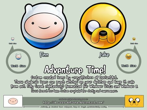 ADVENTURE TIME!! Icons by royalflushxx deviantart com on