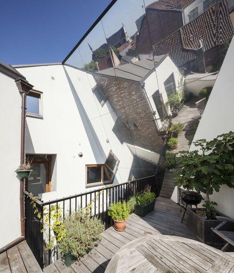 Atelier Vens Vanbelle Tim Van De Velde Gewad Divisare City Apartment Contemporary Architecture Architecture