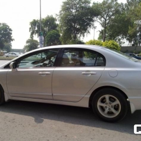 Comments By Seller The Car 2012 Model Reborn Shape Is In Excellent Condition Having Pre Fitted Navigation Silver Colour Islamabad R Honda Civic Civic Honda