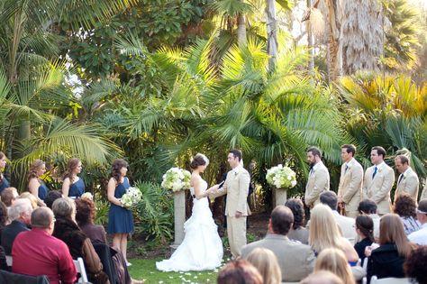 Pine Hill wedding venue in San Diego at Paradise Point Resort & Spa. #WeddingVenues