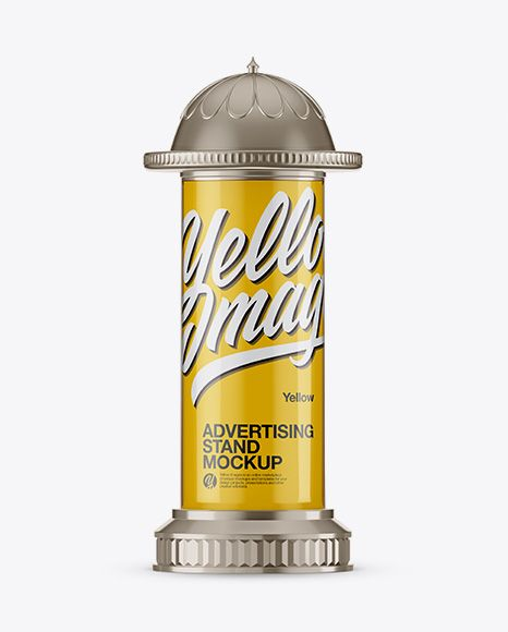 Download Round Glossy Street Advertising Pillar With Glossy Label Mockup Front View In Outdoor Advertising Mockups On Yellow Images Object Mockups Mockup Free Psd Glossy Labels Mockup Psd Yellowimages Mockups