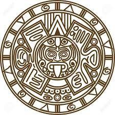 Image Result For Imagenes Para Serigrafia Gratis Calendario Maya Simbolos Mayas Calendario Maya Dibujo