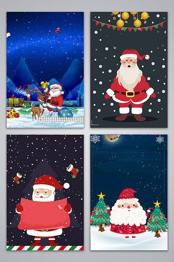 Christmas Festival Cartoon Images.Fantasy Cartoon Christmas Festival Background Pikbest