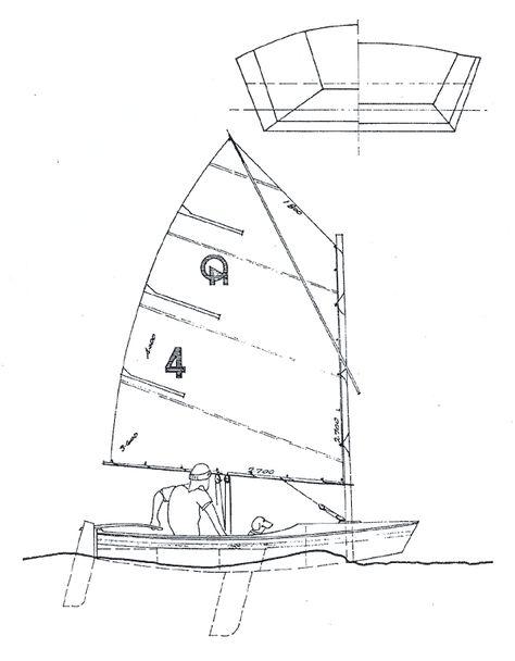 Build Your Own Optimist Sailing Dinghy