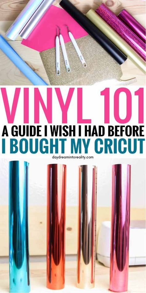 Everything about Craft Vinyl |  Adhesive & Heat Transfer Vinyl (Iron-on)