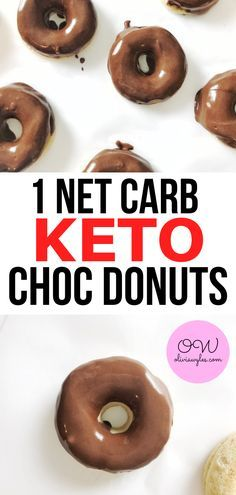 This keto dessert is the best! There is no way I could make it through the Keto Diet without these amazing keto donuts. I love these keto chocolate glazed donuts. Only 1 net carb and its a great keto dessert! The post Keto Chocolate Glazed Donuts Keto Foods, Keto Desserts, Holiday Desserts, Dessert Recipes, Dessert Blog, Keto Snacks, Recipes Dinner, Lunch Recipes, Donuts Keto