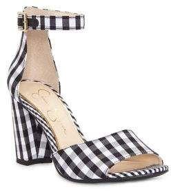 Jessica Simpson Sherron Checkered Ankle