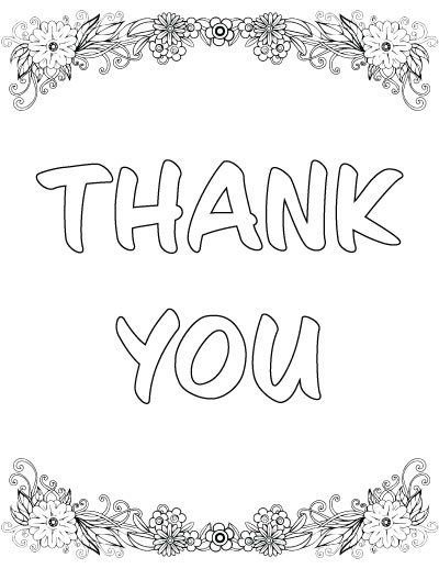 7 Free Printable Thank You Coloring Pages Coloring Pages Quote Coloring Pages Snowflake Coloring Pages