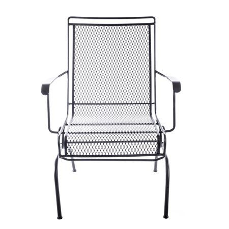 Prime Arlington House Wrought Iron Motion Chair Outdoor Patio Gmtry Best Dining Table And Chair Ideas Images Gmtryco