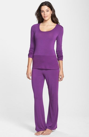 2c6b1bbeaf Free shipping and returns on DKNY Pajama Top   Bottoms at Nordstrom.com.