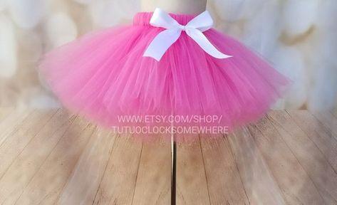 78f7580bd Pretty In Pink Tutu, Shocking Pink Tutu, Baby Tutu, Toddler Tutu, Adult Tutu,  Plus Size Tutu, Newborn Tutu, Easter, Baby Shower, Birthday