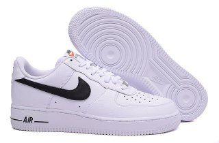 Mens Womens Shoes Nike Air Force 1 07 Starlet White Black AA4083 103 aa4083 103