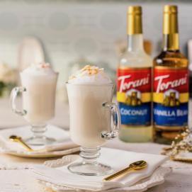Spiked Coconut Vanilla Steamer Recipe Torani Torani Recipes Vanilla Steamer Recipe Syrup Recipe