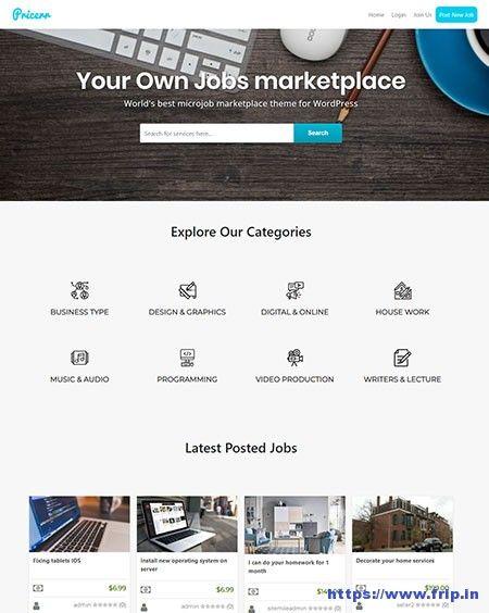 7 Best Micro Jobs WordPress Themes 2019   WordPress Themes
