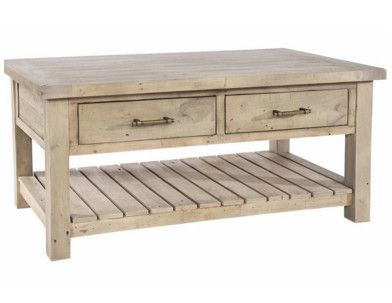 Delicieux Dorset 2 Drawer Reclaimed Wood Coffee Table Closed Drawer | Coffee Tables,  Side Tables, Console Tables | Pinterest | Reclaimed Wood Coffee Table, ...