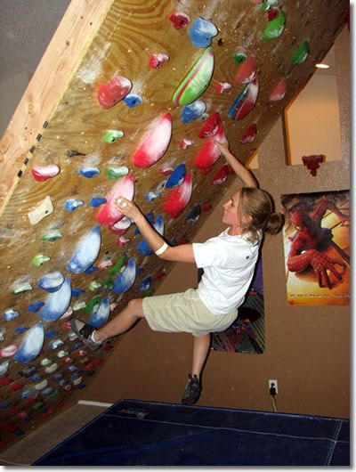 How to build a rock climbing   bouldering wall! plan for the