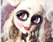 Gothic Art Doll OOAK Creepy Cute - Fashionista, Pop surrealism