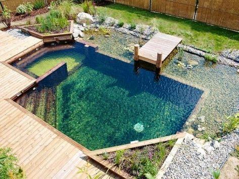 Pin Auf Schwimmteich