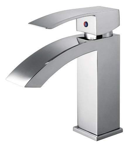 Dowell Single Handle Lavatory Faucet Brushed Nickel 8001 013 02