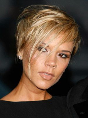 Victoria Beckham, short hair