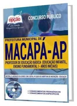Apostila Prefeitura De Macapa 2018 Professor De Educacao Basica