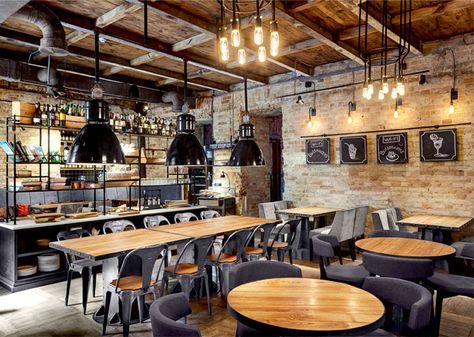 Bottega Wine and Tapas de Kley Design Studio — Déco Idées Blog