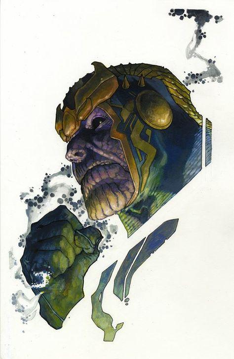 Thanos by Simone Bianchi