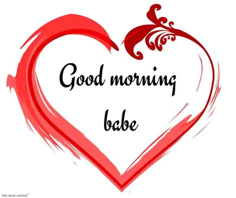 good-morning-babe-with-heart-image