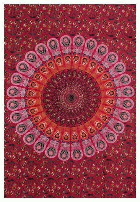 Yellow Cotton Indian Ombre Mandala  Elephant Wall Hanging Twin Tapestry Bedding