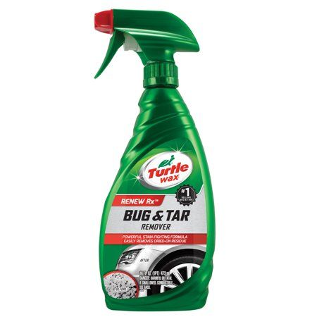 Bug and tar remover for cars