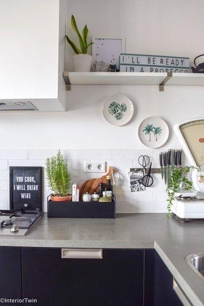 5 Stylingideeen Voor De Ferm Living Plant Box Interiortwin Keuken Decoratie Keuken Ontwerp Keuken Inrichting