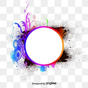 Round Vector Image Round Color Splash Png Transparent Clipart Image And Psd File For Free Download Poster Background Design Vector Images Rollup Banner Design