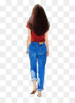 Vysledok Vyhľadavania Obrazkov Pre Dopyt Girl Back Png People Png Girl Back Happy People